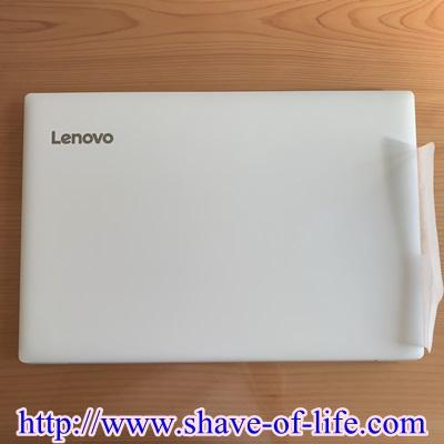 Lenovoノートパソコン外観